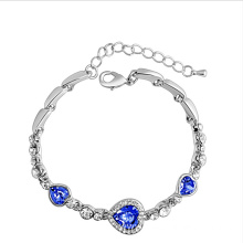 China for Lady Jewelry New fashion sea heart bracelet export to Pakistan Factory